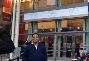 WWDC が開催されるモスコーンセンター
