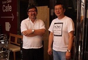 仲が良さそうな中川さん(左)と玉置さん(右)