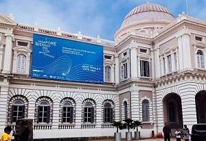シンガポール・ビエンナーレの会場、シンガポール国立博物館