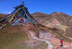 チベットの玄関口、日月山(青海省)