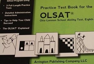 OLSATの問題集の表紙
